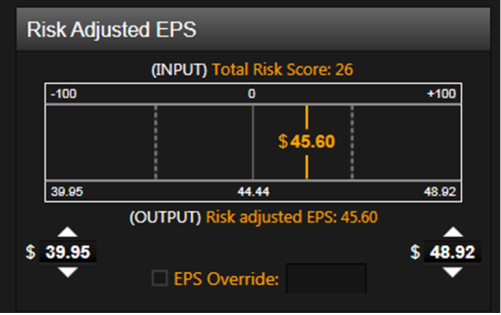 Risk-Adjusted Earnings