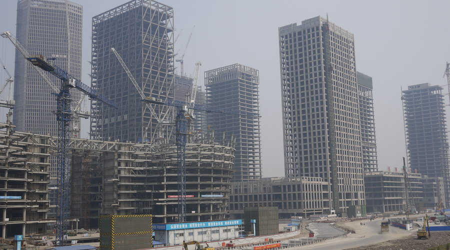 Tianjin - A new - but empty - Rockefeller Center